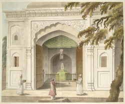 The mausoleum of Hafiz Rahmat Khan at Bareilly